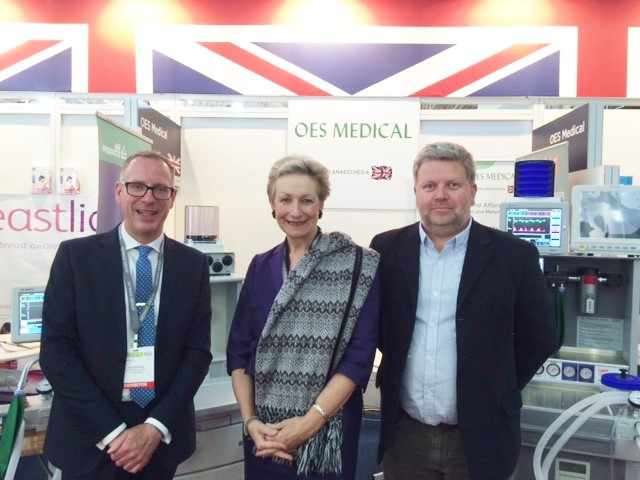 OES and Gradian Healthcare at Africa Health Exhibition - NEWS ITEM 15062016-1