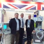 OES Medical and Gradian Healthcare at Africa Health Exhibition, Johannesburg, South Africa 8 – 10 June 2016