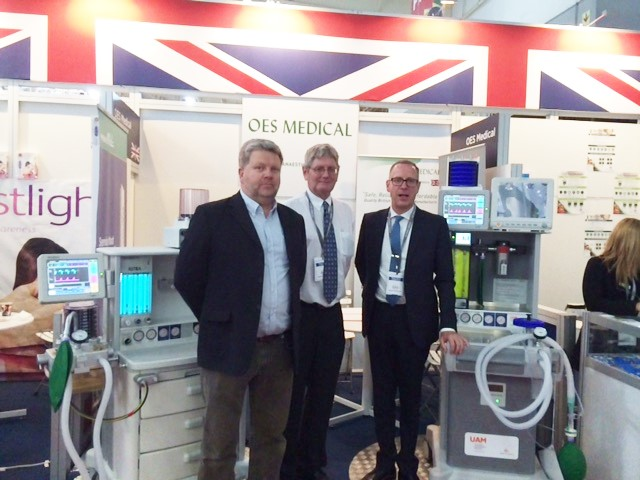 OES and Gradian Healthcare at Africa Health Exhibition - NEWS ITEM 15062016